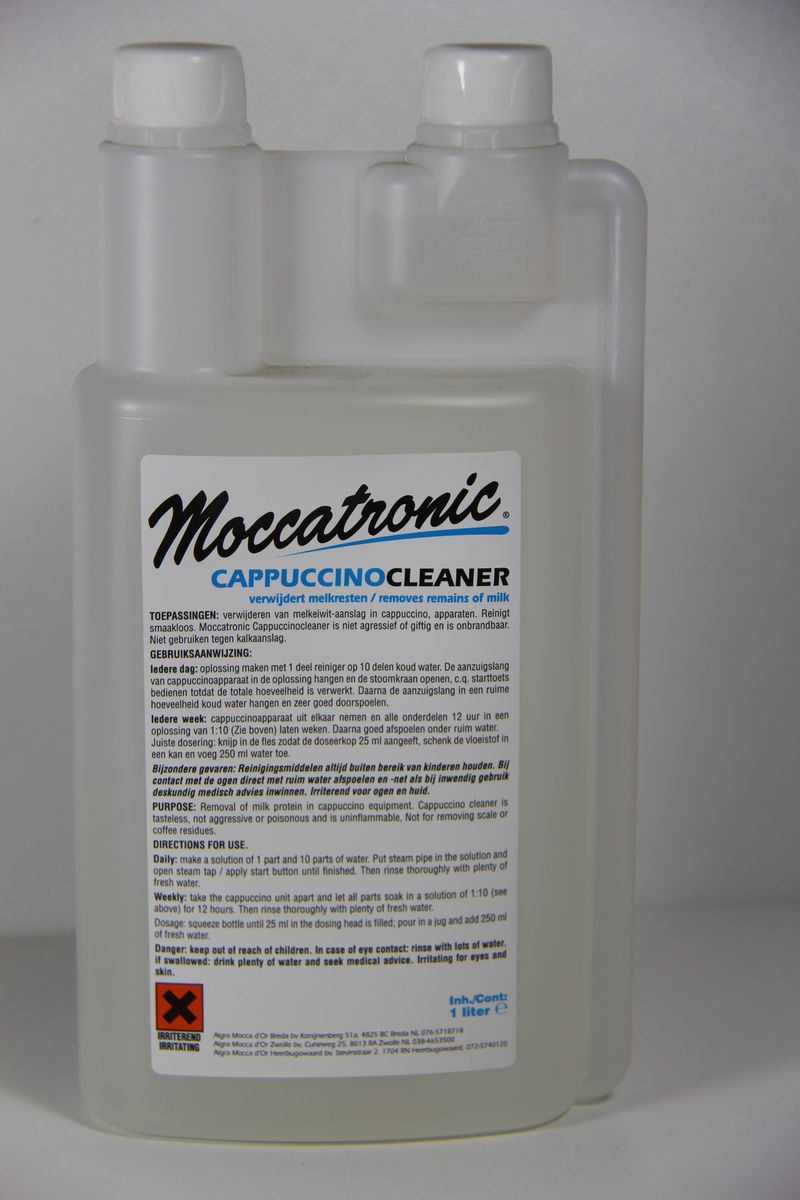 Private label moccachronic cappuccinocleaner