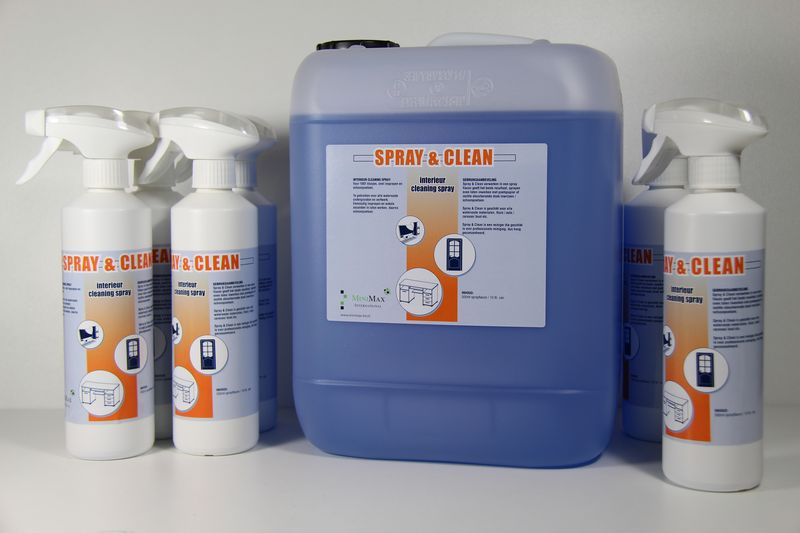 Spray & clean - interieur cleaning spray